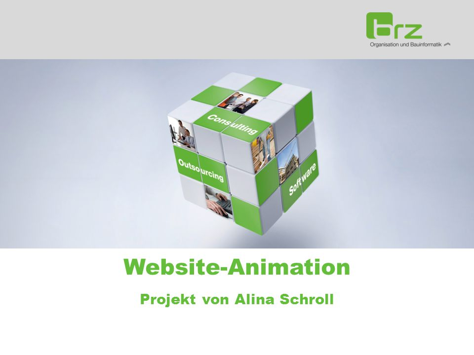 Website-Animation Projekt von Alina Schroll