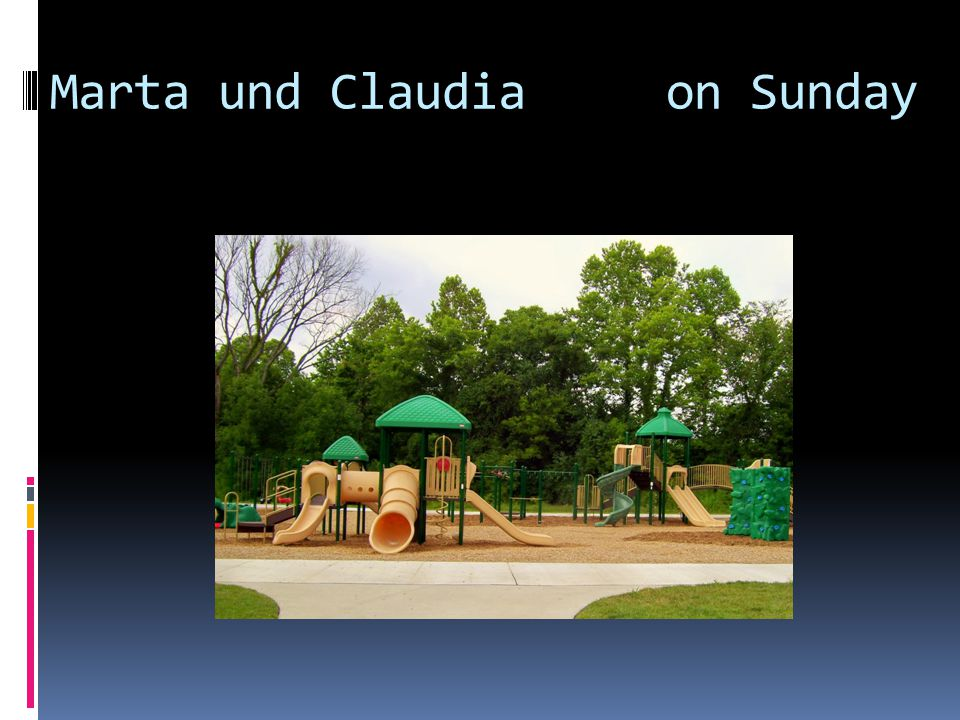 Marta und Claudia on Sunday
