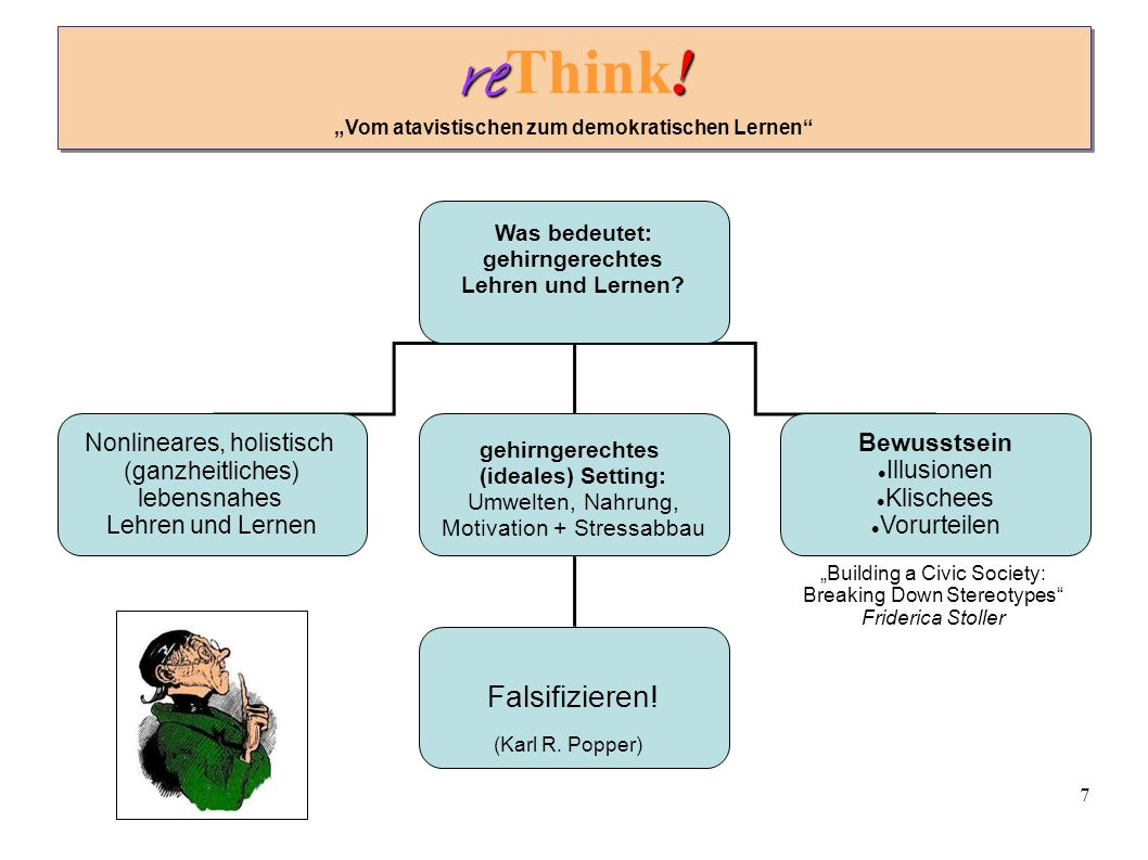7 re . re Think.