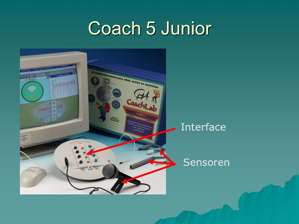 Coach 5 Junior Interface Sensoren