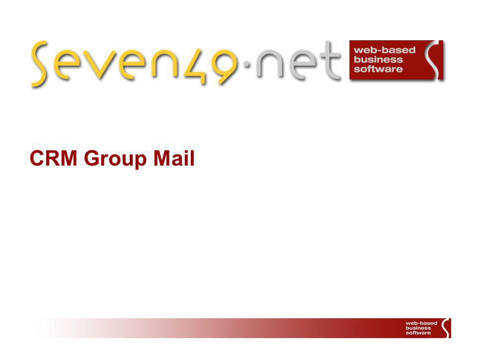 CRM Group Mail