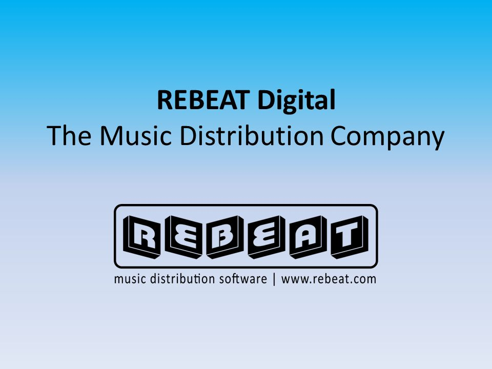 REBEAT Digital The Music Distribution Company