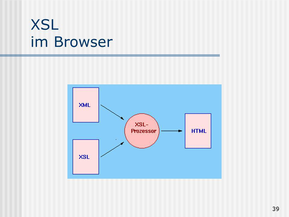 39 XSL im Browser
