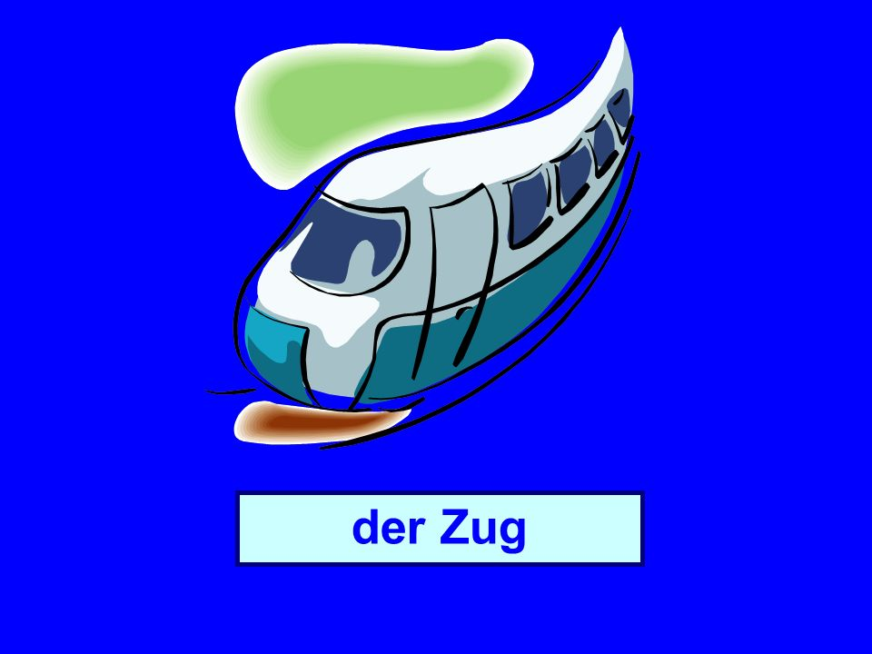 Objectives say which means of transport you use Learn how to say where you are going/travelling using to the (zu) Learn about German word order