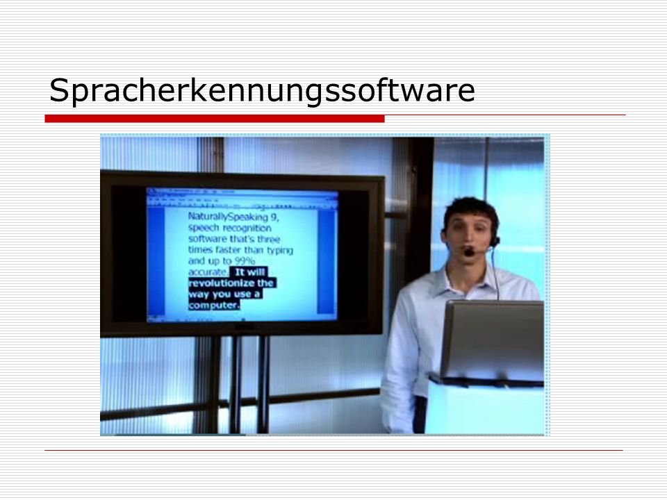 Spracherkennungssoftware