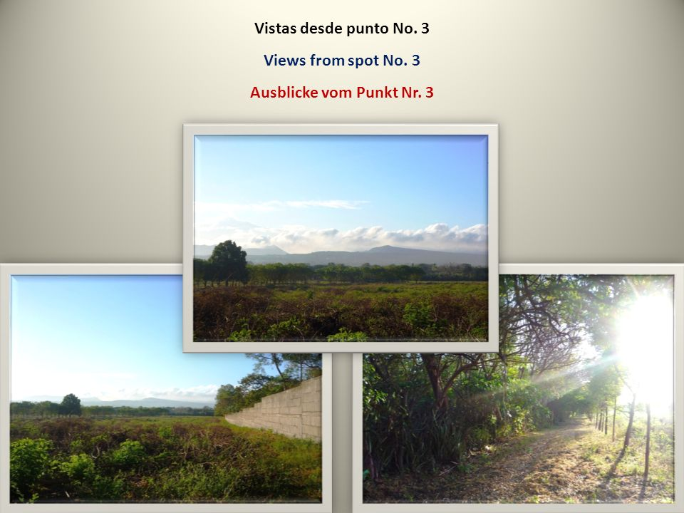 Vistas desde punto No. 3 Views from spot No. 3 Ausblicke vom Punkt Nr. 3