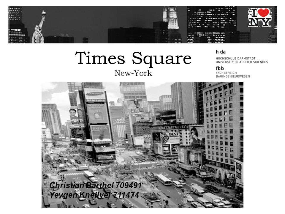 Times Square New-York Christian Barthel 709491 Yevgen Knellyer 711474