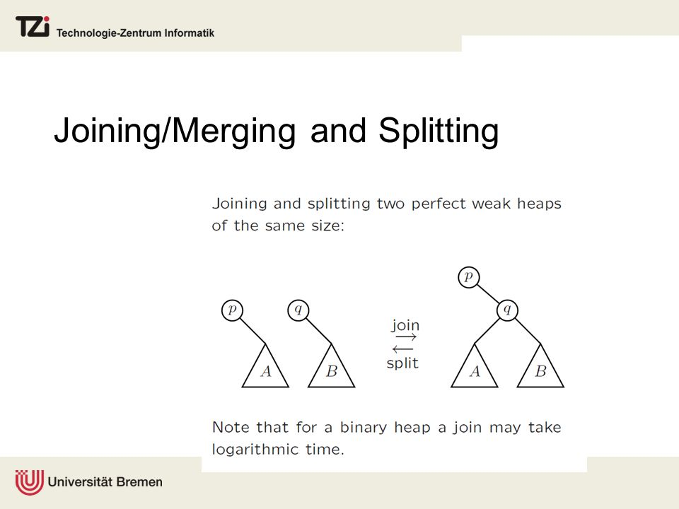 Joining/Merging and Splitting