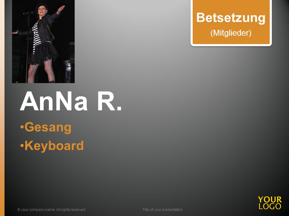 AnNa R. Gesang Keyboard © your company name.