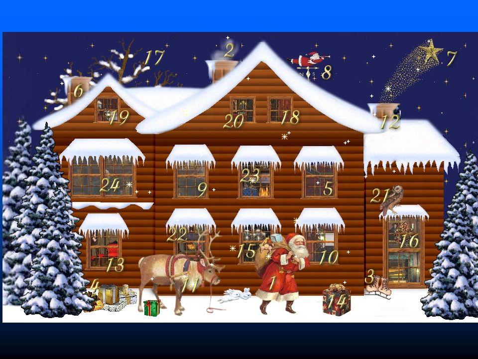 1 Dezember Weihnachten Ganz plötzlich kehrt in unsere laute Welt die ...