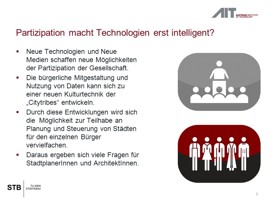 Partizipation macht Technologien erst intelligent.