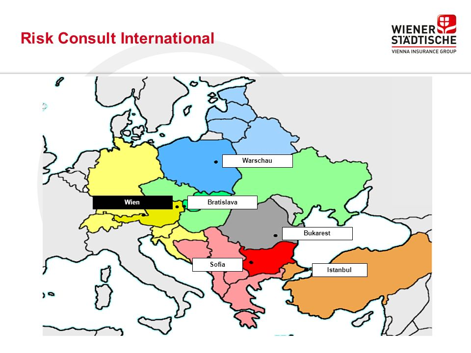 Warschau WienBratislava Istanbul Bukarest Sofia Risk Consult International