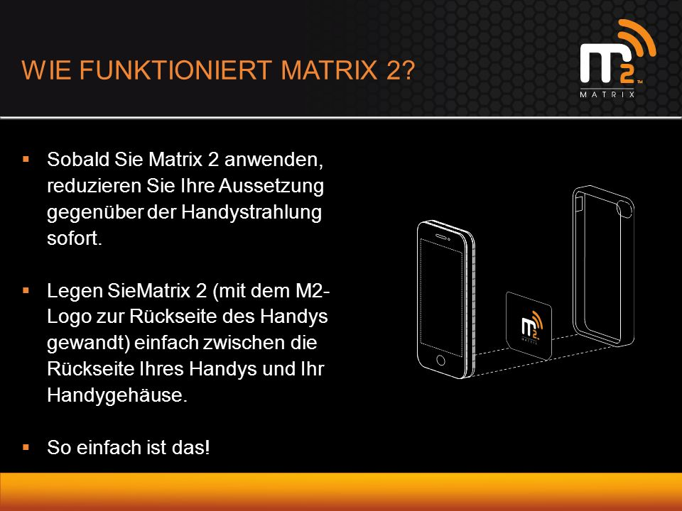 WIE FUNKTIONIERT MATRIX 2.