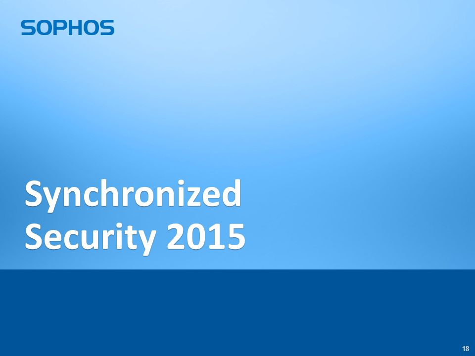 18 Synchronized Security 2015