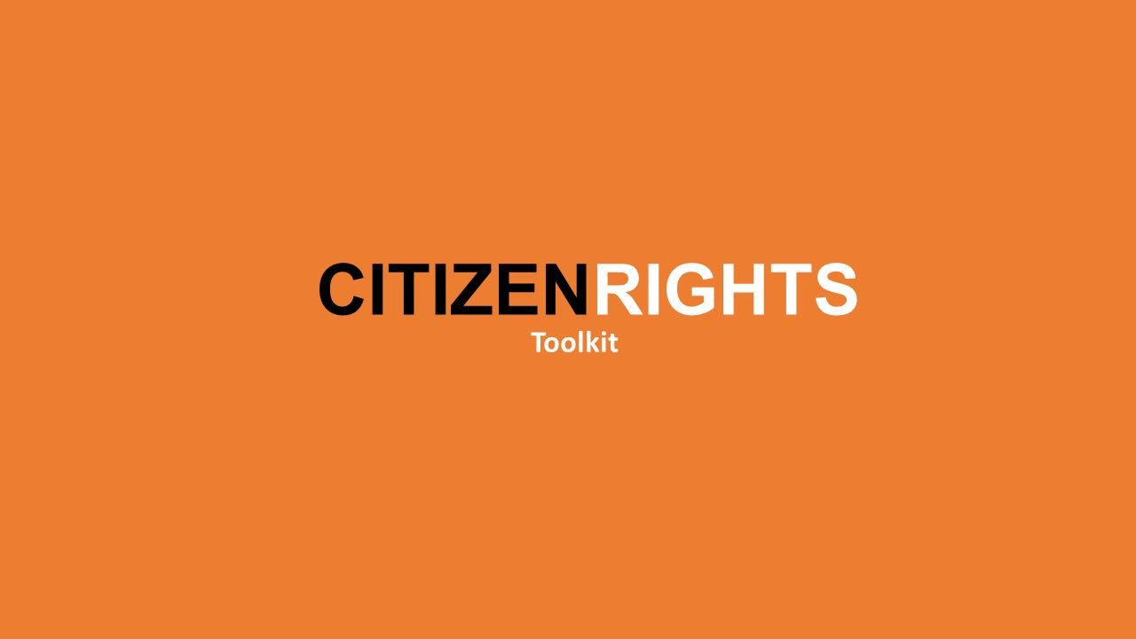 CITIZENRIGHTS Toolkit