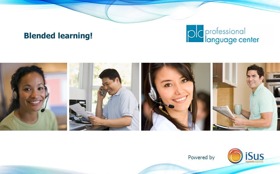 Blended learning! Powered by
