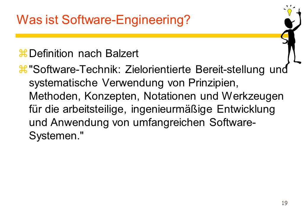 19 Was ist Software-Engineering.