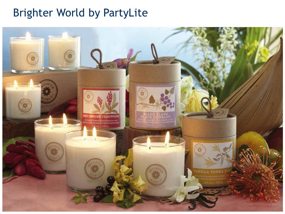 Brighter World by PartyLite 20