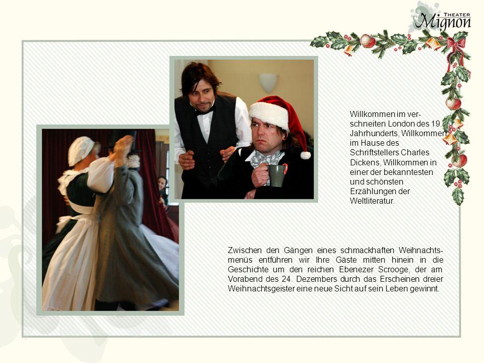 Deckblatt Ein Dinnertheater in 4 Akten. Scrooge und Belinda Dickens ...