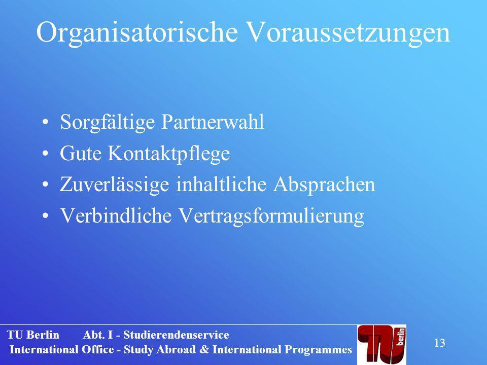 Tu Berlin Abt I Studierendenservice International Office Study