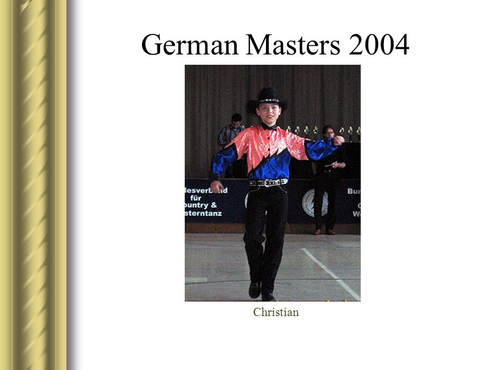 German Masters 2004 Christian
