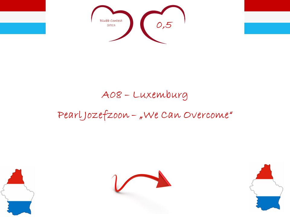 0,5 A08 – Luxemburg Pearl Jozefzoon – We Can Overcome