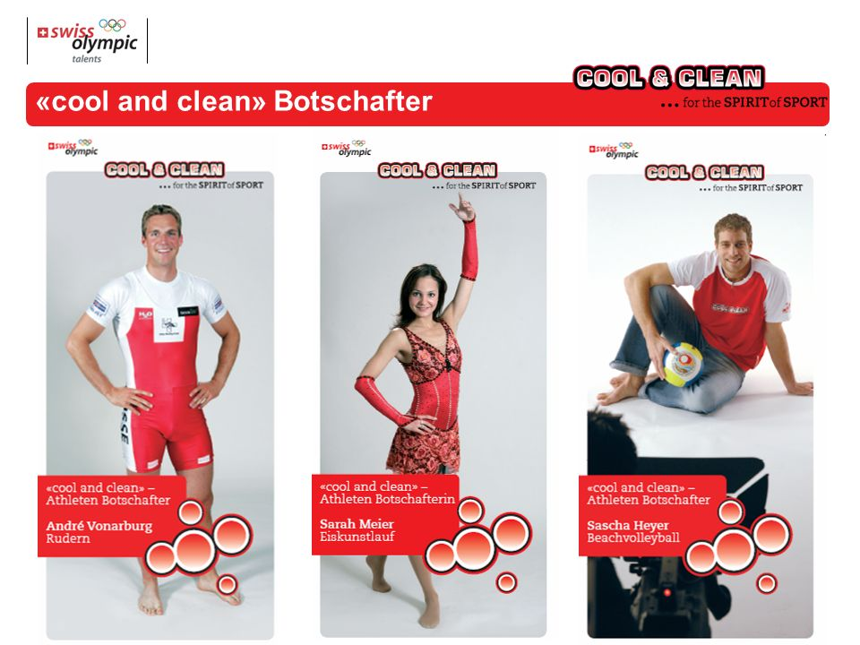 «cool and clean» Botschafter