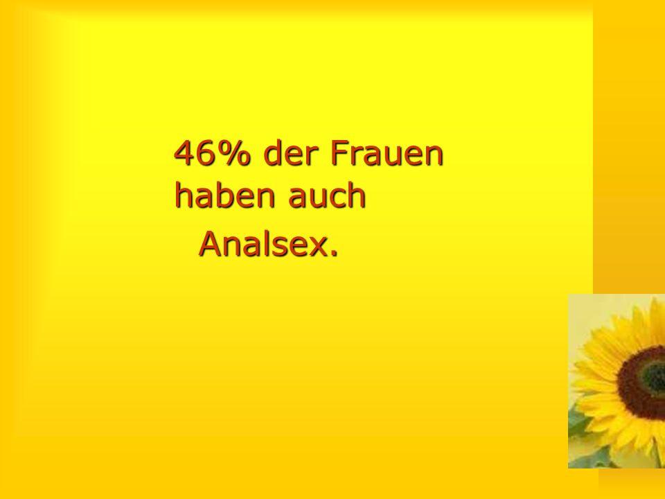 Analsex-Statistik