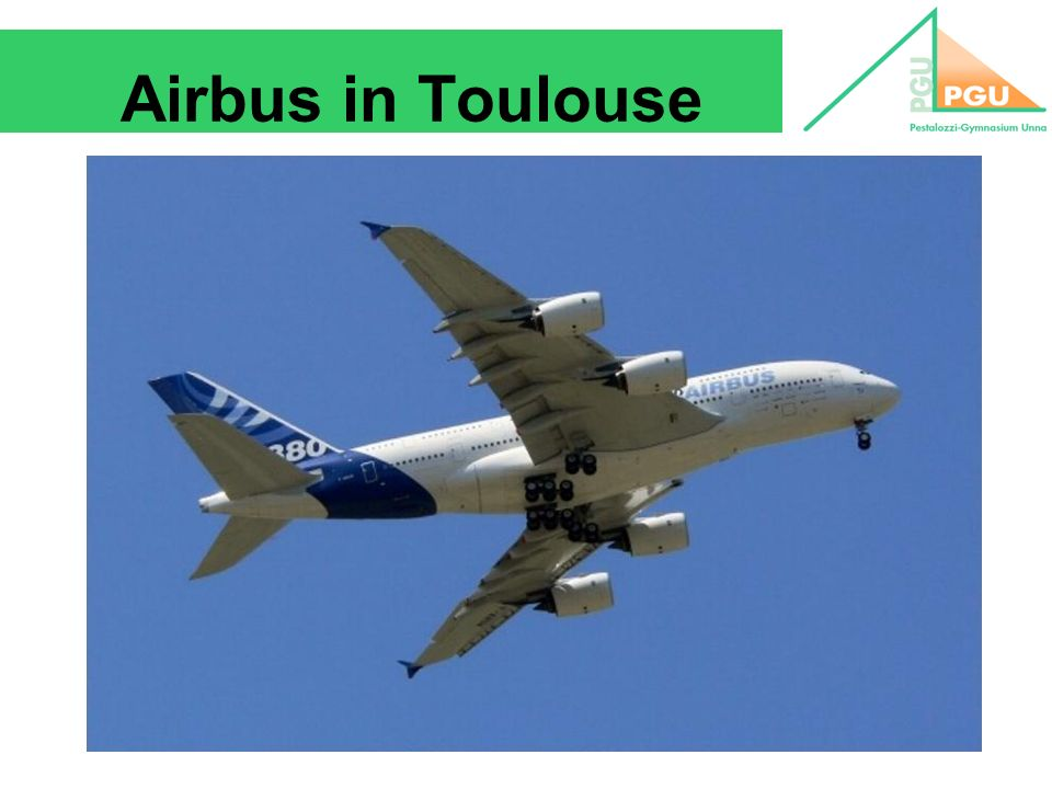 Airbus in Toulouse