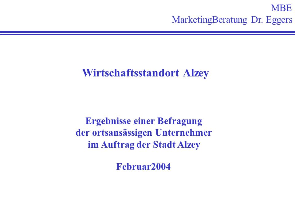 MBE MarketingBeratung Dr.