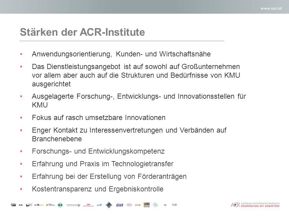 Austrian Cooperative Research Acr Ist Die Vereinigung Von 17