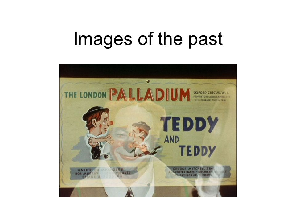 Images of the past