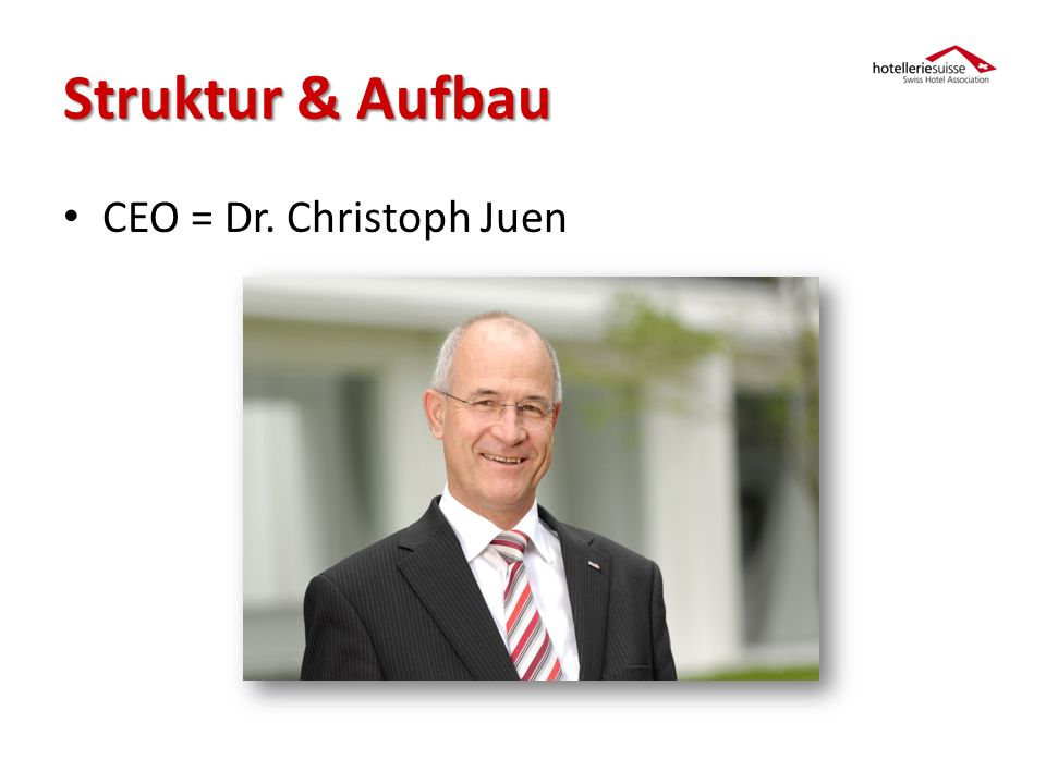 CEO = Dr. Christoph Juen