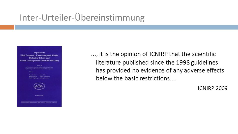 ..., it is the opinion of ICNIRP that the scientific literature published since the 1998 guidelines has provided no evidence of any adverse effects below the basic restrictions....