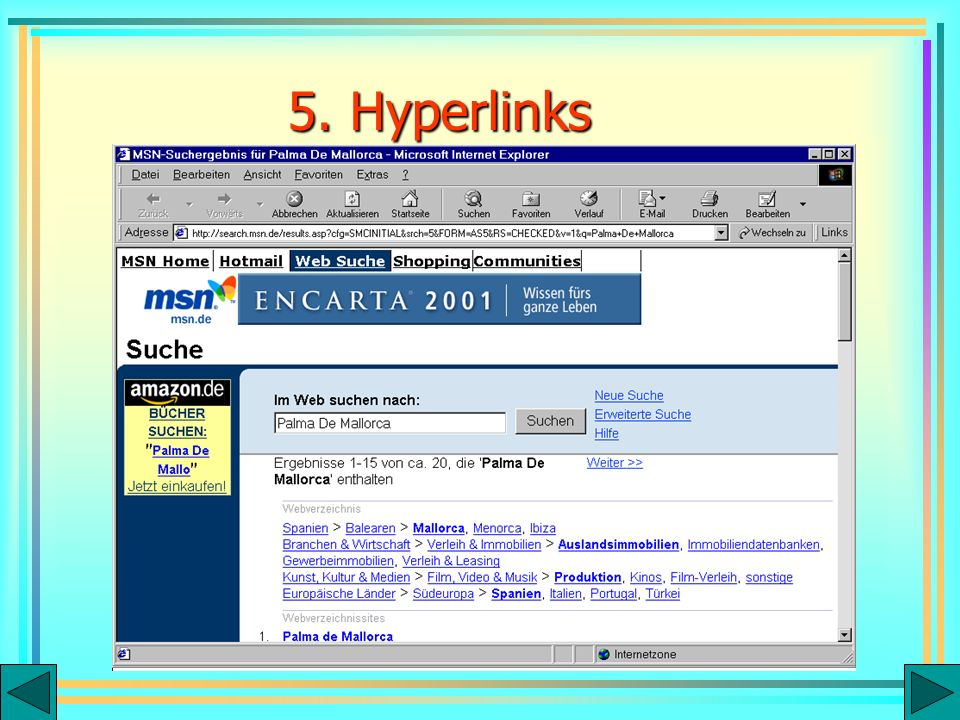 5. Hyperlinks