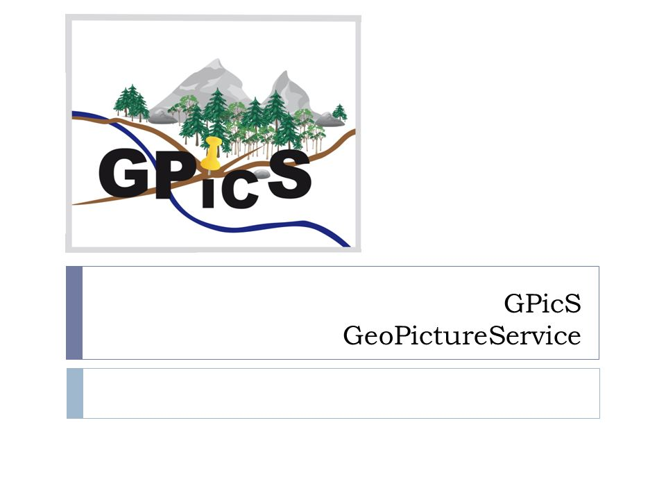 GPicS GeoPictureService