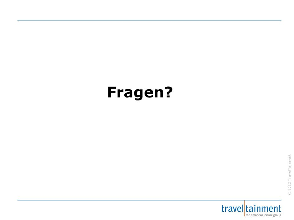 © 2012 TravelTainment Fragen