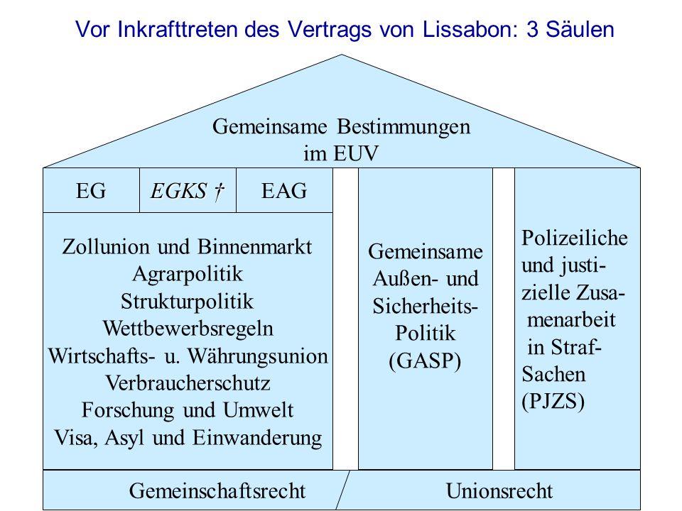 Rechtslage Bis Zum Inkrafttreten Des Maastricht Vertrages 1993