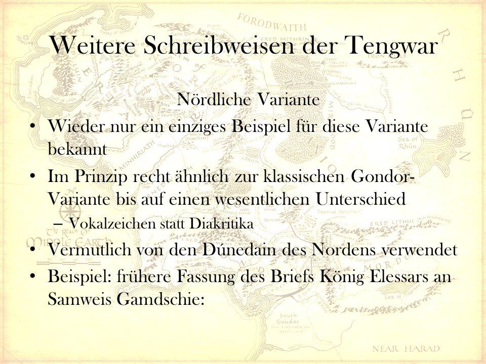 Strukturkurs Quenya & Sindarin -Tolkiens Elbensprachen ...