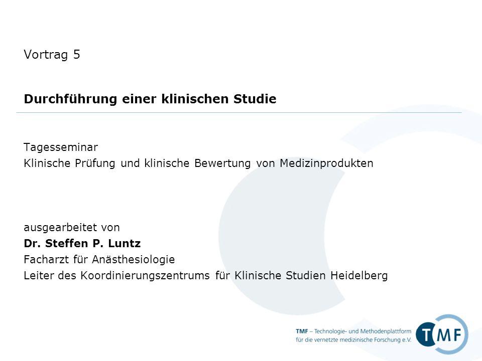 Tagesseminar Klinische Prüfung und klinische Bewertung von ...