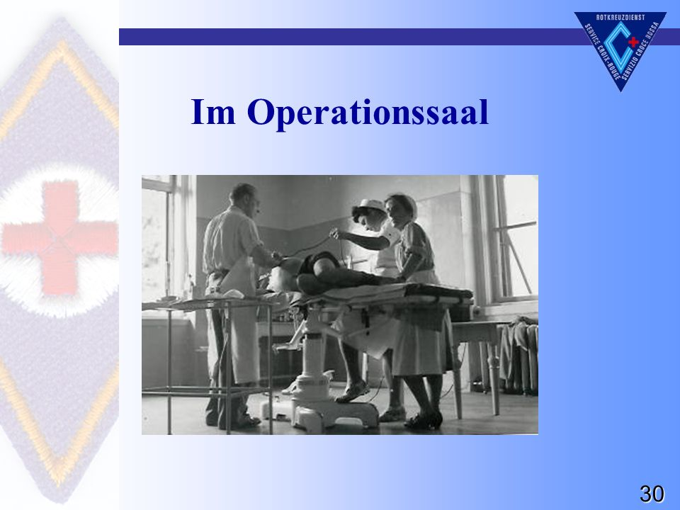 30 Im Operationssaal