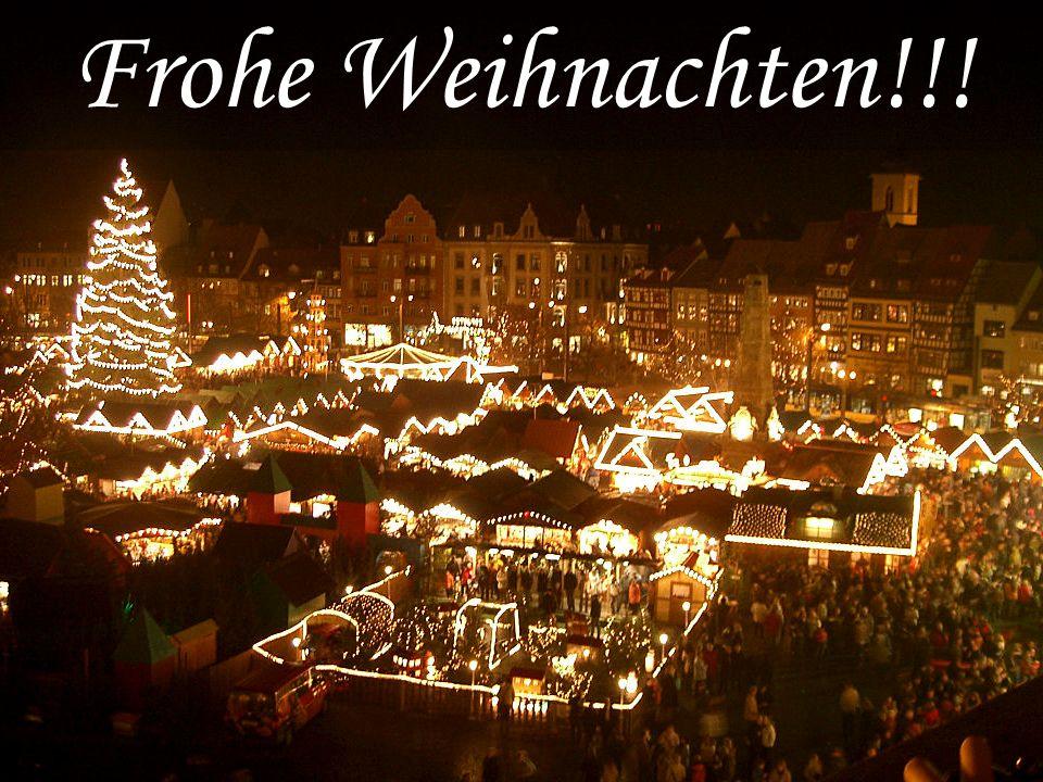 Frohe Weihnachten Aus Deutschland.Weihnachten In Deutschland Der Adventskranz Der
