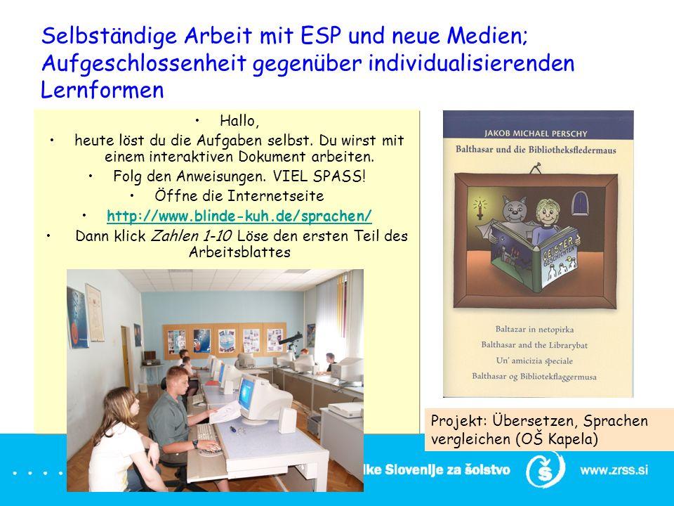 Evropski jezikovni listovnik European Language portfolio Portfolio ...