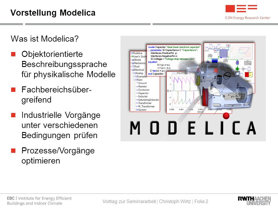 Was ist Modelica.