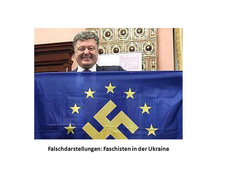 Falschdarstellungen: Faschisten in der Ukraine