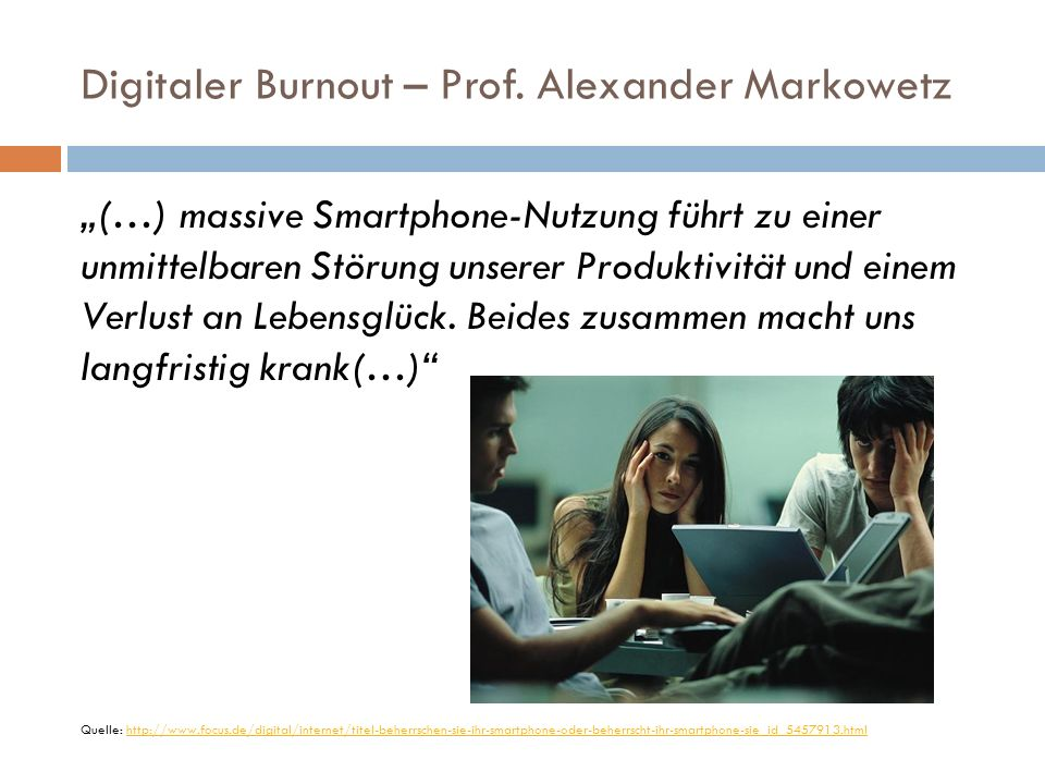 Digitaler Burnout – Prof.