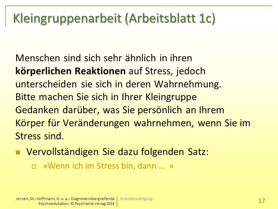 Jensen, M.; Hoffmann, G. u. a.: Diagnosenübergreifende ...