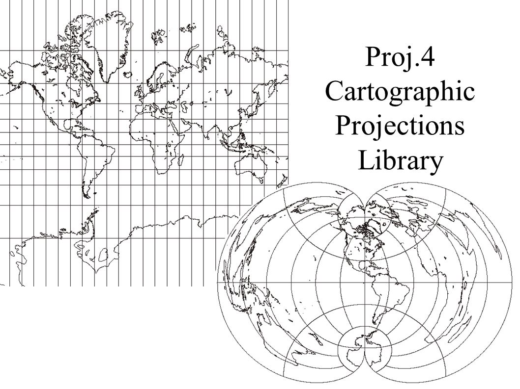 Proj.4 Cartographic Projections Library