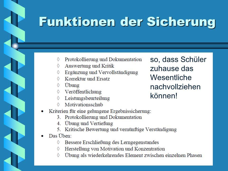 Planung und Gestaltung einer Unterrichtsstunde vorgestellt von StD ...