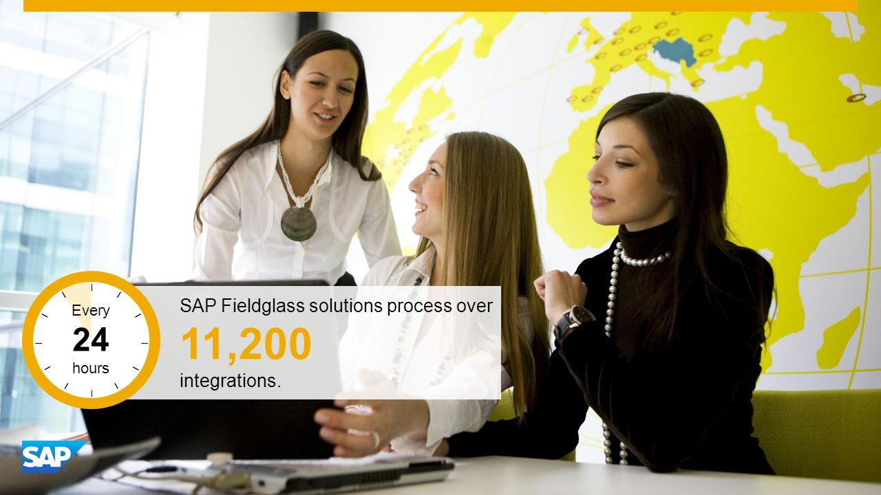 SAP Image ID # 278024 SAP Fieldglass solutions process over 11,200 integrations. Every 24 hours
